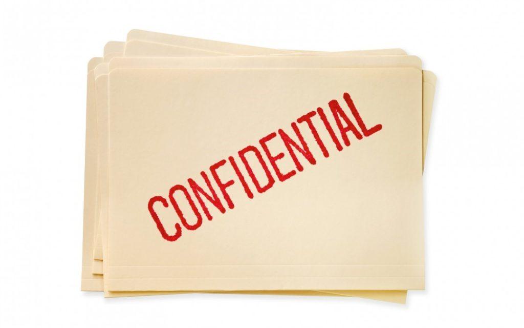 confidentialitate in biroul psihologului